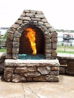 #Backyards  #Patio #FirePlace