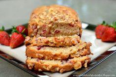 Strawberries 'n' Cream Bread