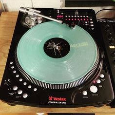 One turntable to rule them all... My homie @thecelsius owns the exceedingly rare and equally amazing Vestax Controller One  by thewavecollector http://ift.tt/1HNGVsC