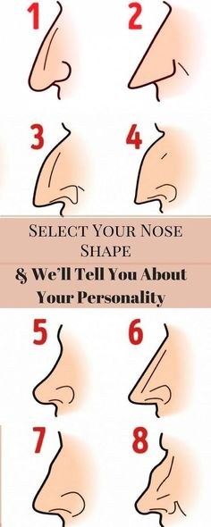 #Nose #shape #PersonalityType #character #interesting #tips #fact