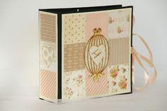 Elli's handmade world: Love Story Love Story, Scrapbook, Album, Handmade, Hand Made, Scrapbooking, Card Book, Handarbeit, Guest Books