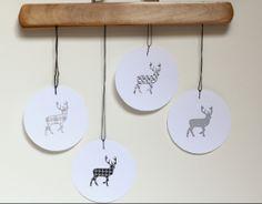 Etiquetas imprimibles para decorar los regalos de Navidad