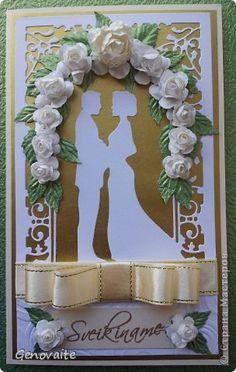 Открытка Свадьба Бумажный туннель Na svadbu Бумага фото 1