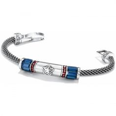 Independence Bracelet:  Show your American spirit while helping kids' arts programs.  50% - $29 per bracelet will go to kids' arts programs across the US.  Add the charms of your choice to personalize the design!
