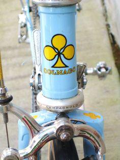 Jaime Amador's 1973 Colnago Super road bike | Classic Cycle Bainbridge Island Kitsap County