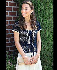 Kate Middleton wearing Whistles