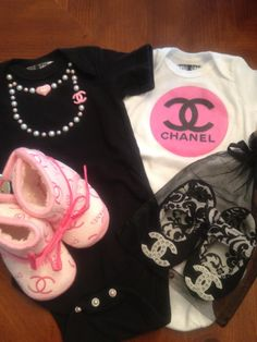 Chanel baby clothes