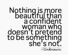 Confidence is NO Competition