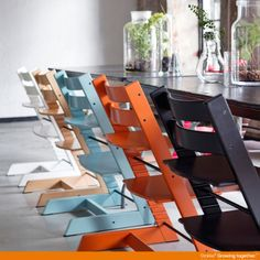 More colors, more design possibilities... Stokke Tripp Trapp