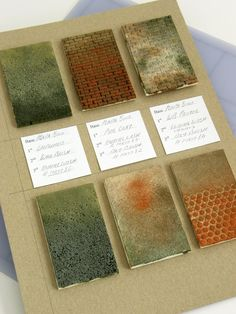 surface samples.excellent discussion of suspension of belief, tutorial about making walls, panels, etc