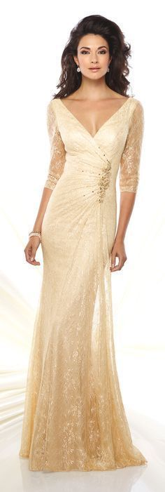 Formal Evening Gowns by Mon Cheri - Spring 2016 - Style No. 116932  #eveninggowns Bride Dresses, Dresses Uk, Mother Of Groom Dresses, Mothers Dresses, Mother Of The Bride, Bridesmaid Dresses, Beautiful Gowns, Stunning Dresses, Elegant Evening Gowns