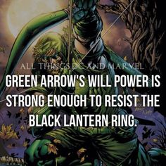 Now I know why Oliver queen is so stubborn