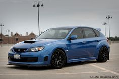 Subaru Impreza WRX STi Hatchback this is what imma be racing against my homie Danny!;)