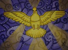 Divino Espírito Santo - Pintura Acrílica (Juliano Silva)