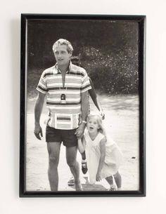 Paul Newman with Lissy in 1968, on the set of Rachel, Rachel.