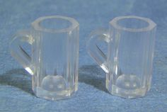 12th Scale Dolls House Glass Beer Mug pack of 2 (D1593) | Hobbies | Streets Ahead