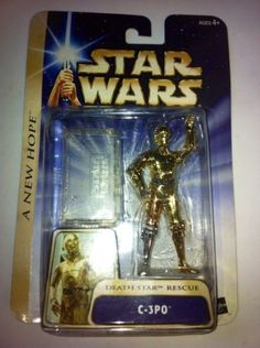STAR WARS HALL OF FAME A NEW HOPE DEATH STAR ESCAPE C-3PO 2004