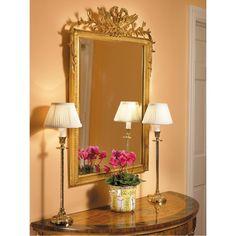 Brass Buffet Candlestick Lamp Item #: RT240/560 Catalog HotKey: K1076