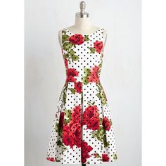 Jessica Simpson Vintage-Inspired Fit & Flare Dress