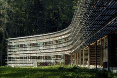 Vigilius Mountain Resort, Wood architecture