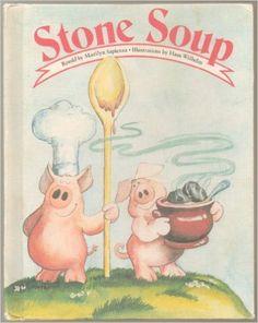 Stone Soup (Weekly Reader Children's Book Club): Marilyn Sapienza, Hans Wilhelm: Amazon.com: Books