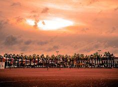 Sunset at Playa de la Malvarrosa by Eduardo Armas on 500px
