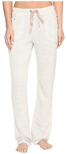 Lucky Brand Bright Touch French Terry Pants (Light Heather Grey) Women's Pajama - Lucky Brand, Bright Touch French Terry Pants, 2581323-050, Apparel Bottom Sleepwear, Sleepwear, Bottom, Apparel, Clothes Clothing, Gift, - Fashion Ideas To Inspire