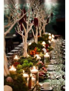 Table Settings - Christmas Table Decorations - Marie Claire