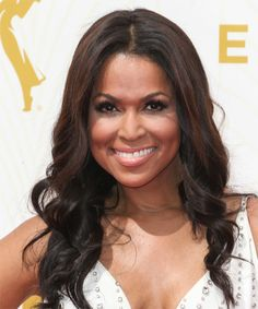 Tracey E Edmonds Long Wavy Hairstyle. Try on this hairstyle and view styling steps! http://www.thehairstyler.com/hairstyles/formal/long/wavy/tracey-e-edmonds