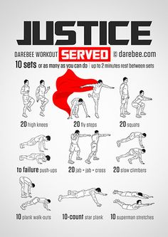 Justice: Served  Workout | Posted By: NewHowToLoseBellyFat.com