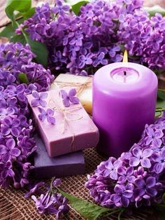 Scented and purple ✨