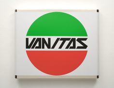 VANITAS, 2006 PVC adesivo su ottone nikelato 54,5x67,5x5cm
