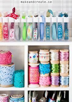 Ordning bland banden - Idébank - DIY - Make & Create