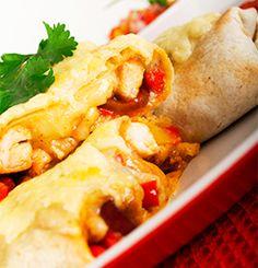 Vart opp med enchilada i dag - Søk Dinner Recipes For Kids, Healthy Dinner Recipes, Vegetarian Recipes, Healthy Foods, Yummy Recipes, Tasty, Yummy Food, Chicken Enchiladas, Food Preparation