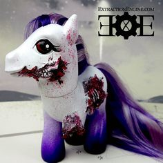 Zombie Pony Cool Stocking Stuffer by ExtractionEngine on Etsy