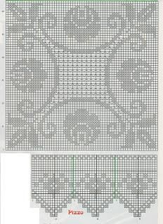 Sex chat lookers - Her Crochet Filet Crochet Charts, Crochet Borders, Crochet Diagram, Crochet Stitches Patterns, Crochet Squares, Thread Crochet, Crochet Tablecloth Pattern, Crochet Bedspread, Fillet Crochet