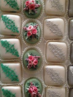 Sardinian traditional decorated sugar cookies