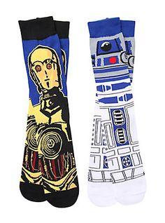 Star Wars Crew Socks 2 Pack,