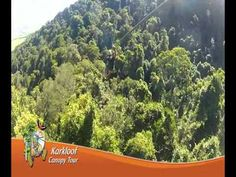 Promotional video showcasing the Karkloof Canopy tour. Kwazulu Natal, Forest Floor, Zig Zag, Platforms, Canopy, Cable, Tours, Adventure, Steel