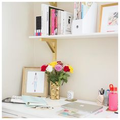 Bright Little Work Space #Office