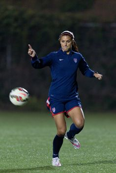 Alex Morgan, January 2015 training camp. (U.S. Soccer)
