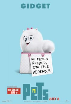 New Movie Posters for The Secret Life Of Pets