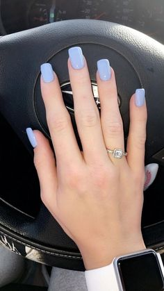 Check these out short acrylic nails #shortacrylicnails