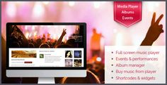 Musico is a fully customizable theme specifically tailored to the needs of musicians. It allows you to manage all your albums and display them in an awesome Independent News Sources, Technology World, Buy Music, Inspirations Magazine, Wordpress Theme Design, Upcoming Events, Music Bands, Entertaining, Themes Free