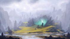 The uncharted levels where magic still roams free  The Living Spirit by heinrichvonm.deviantart.com on @deviantART