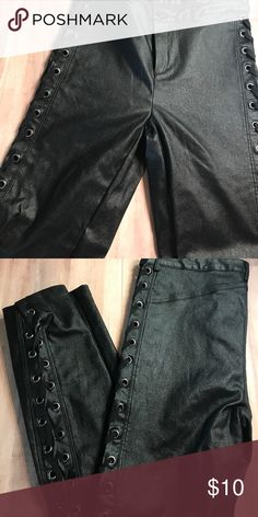 Fashion Nova Side lace pants Fashion Nova side Laced pants Pants