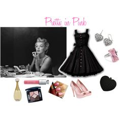 Pretty in Pink, I'm so loving this webiste. Its fun creating fashion looks online.