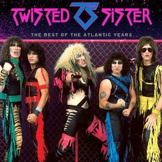 Barnes & Noble® has the best selection of Rock Heavy Metal CDs. Buy Twisted Sister's album titled Best of the Atlantic Years to enjoy in your home or car, Rock And Roll Bands, Rock N Roll Music, Rock Bands, Metal Bands, Hard Rock, Glam Metal, Blues Rock, 80s Heavy Metal, Sister Band