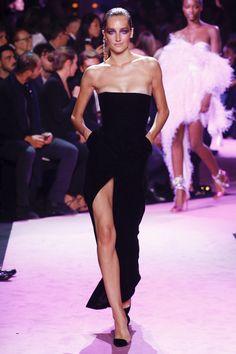 Alexandre Vauthier Fall 2017 Couture Fashion Show - Josephine Le Tutour (Elite)