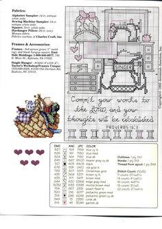 Schema punto croce Stitchin Works 03